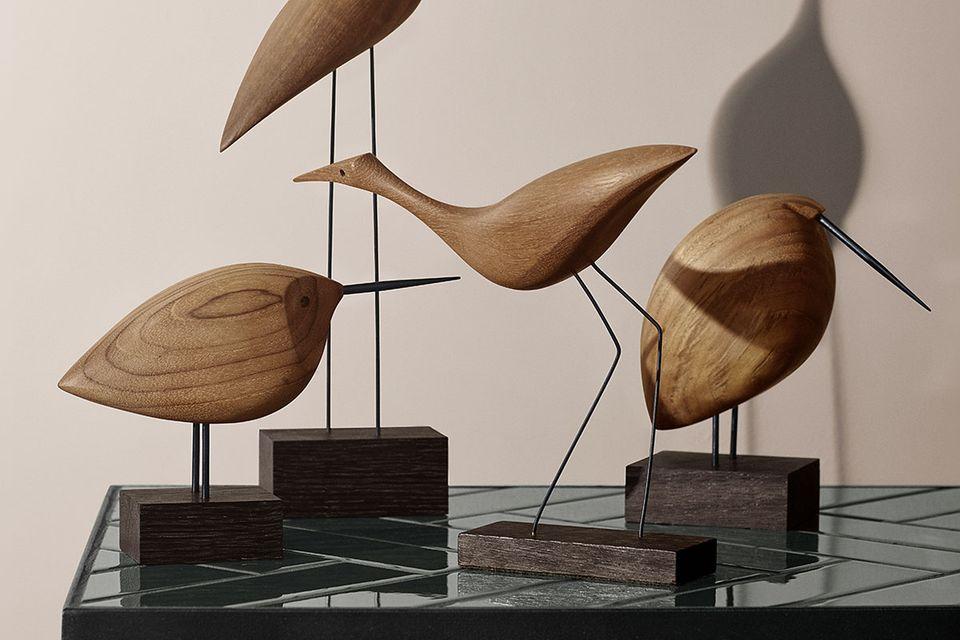 """Holzfiguren """"Beak Birds"""" von Warm Nordic"""