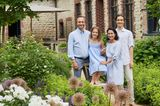Familie Geyer auf ihrem Hof