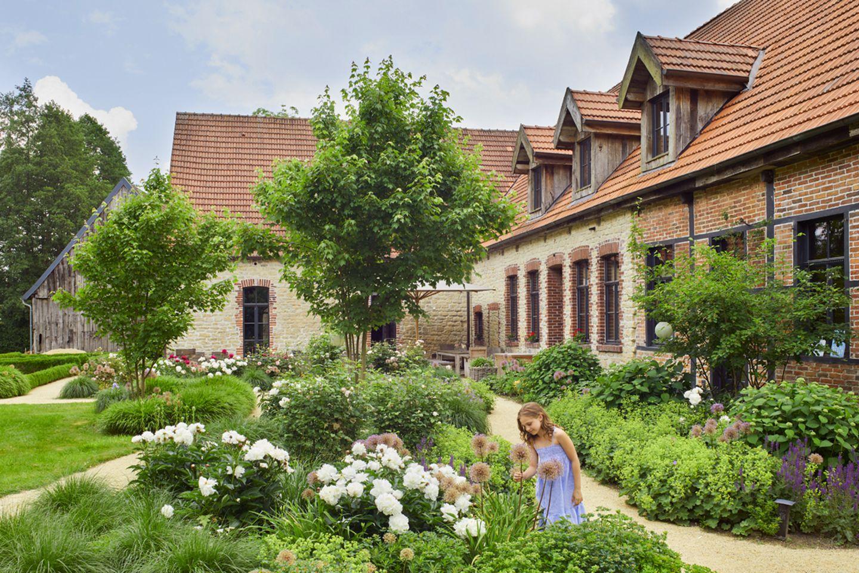 Tochter im Hofgarten