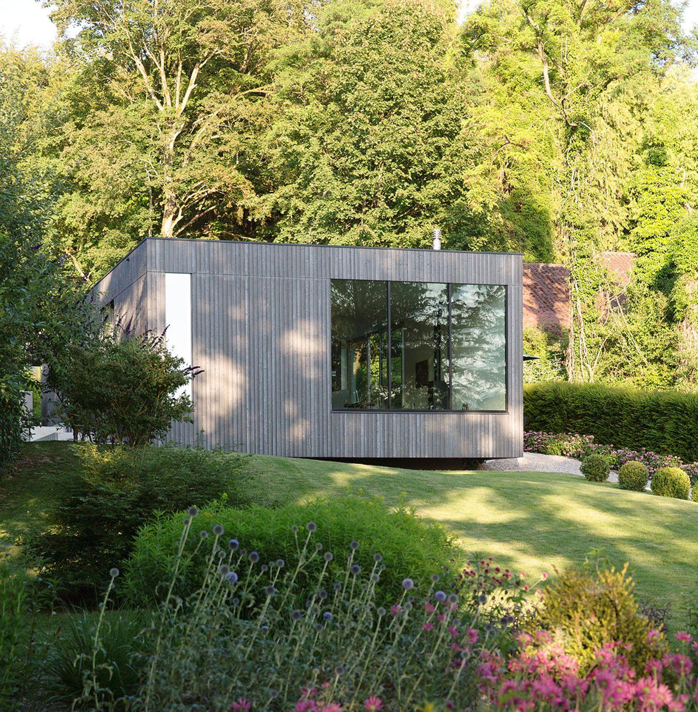 HÄUSER 05-2018: Haus am See - Neubau am Hang