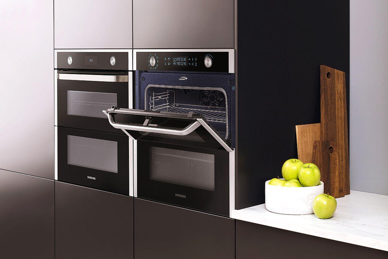 """Geteilter Backofen """"Dual Cook Flex"""" von Samsung"""