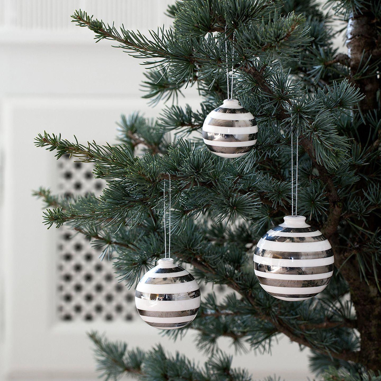 """Weihnachtskugeln """"Omaggio"""" von Kähler Design"""