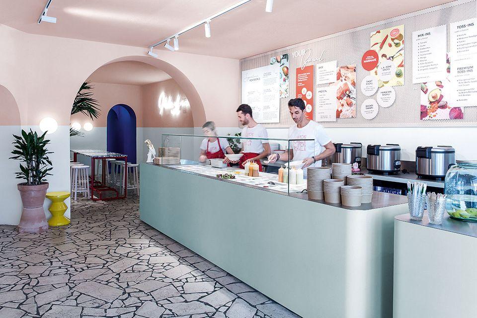 """Restaurant """"L.A. Poke"""" in Berlin"""