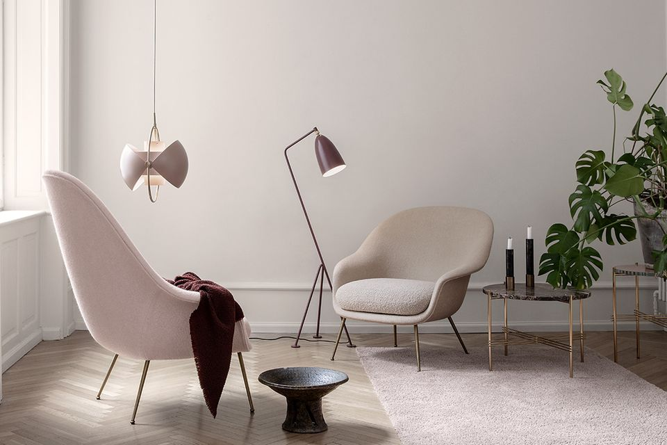 """Sessel """"Bat Lounge Chair"""" von Gubi"""