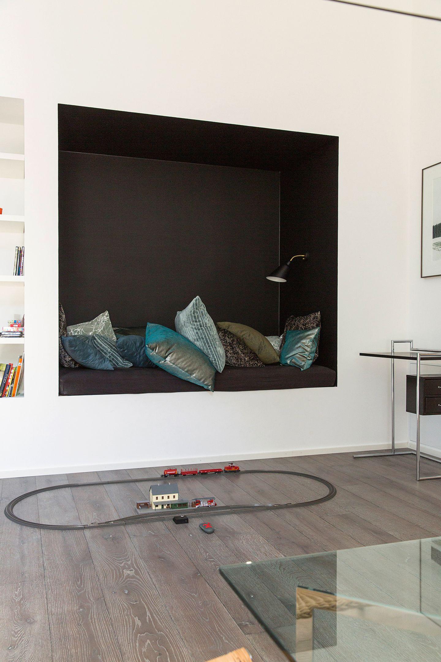 Familienzimmer zum Arbeiten und Erholen