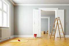 Modernisieren: Wände streichen