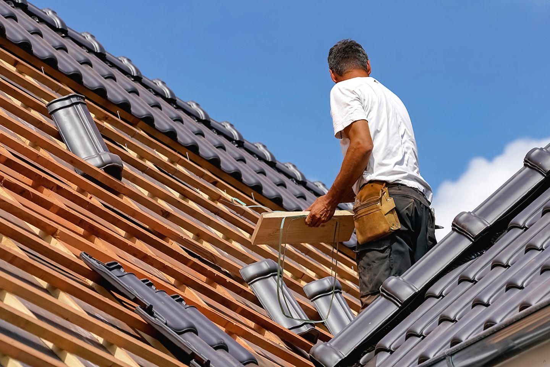 Modernisieren: Dach eindecken