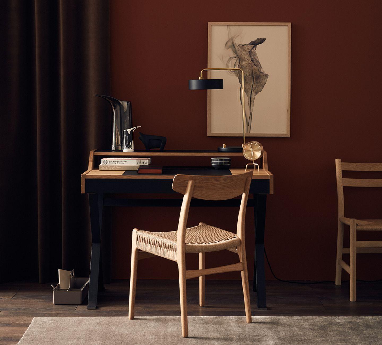Wohnen mit gedeckten Wandfarben - Schokobraun, Bordeaux