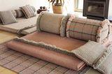 Gepolsterte Teppiche und Bodenkissen