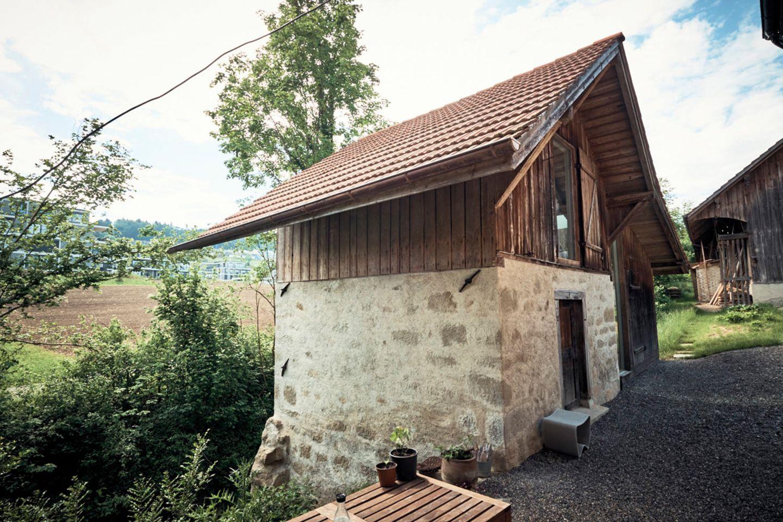 Ein Waschhaus als Atelier