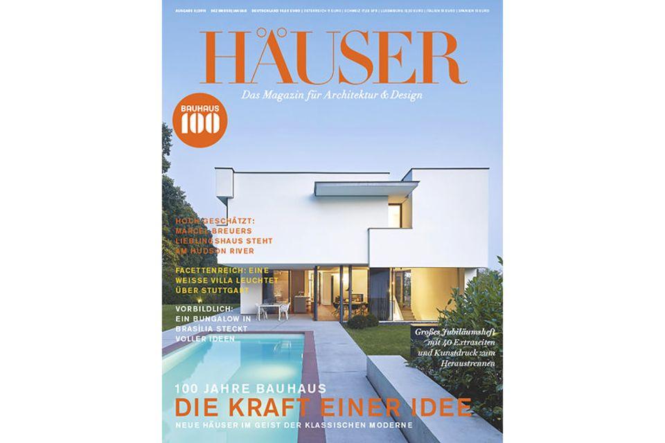 HÄUSER 06-2018: Cover in der Sidebar