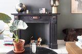 Wohnzimmer mit Kaminkonsole