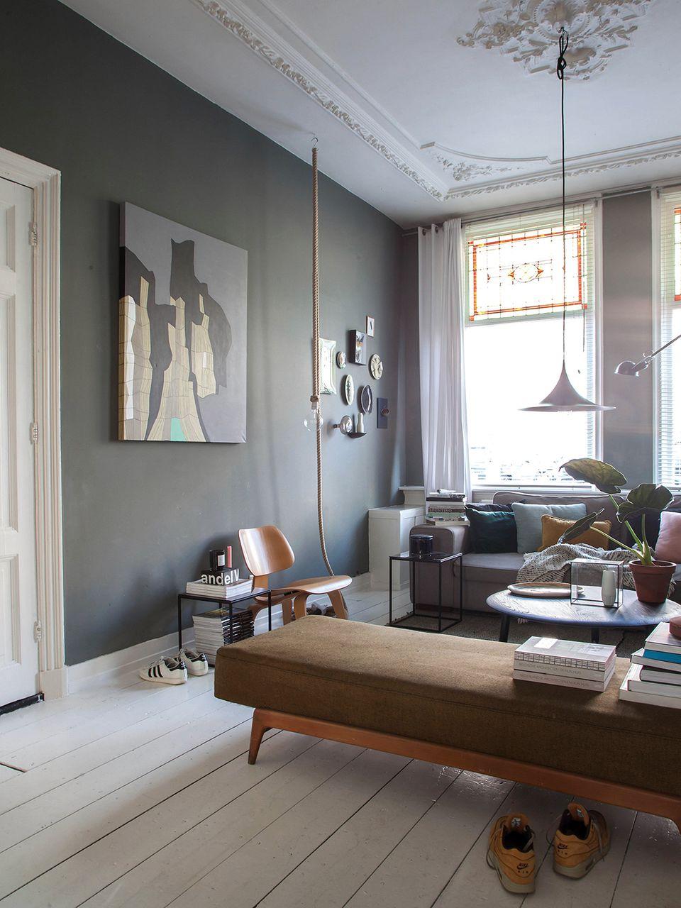 Wohnzimmer mit Daybed