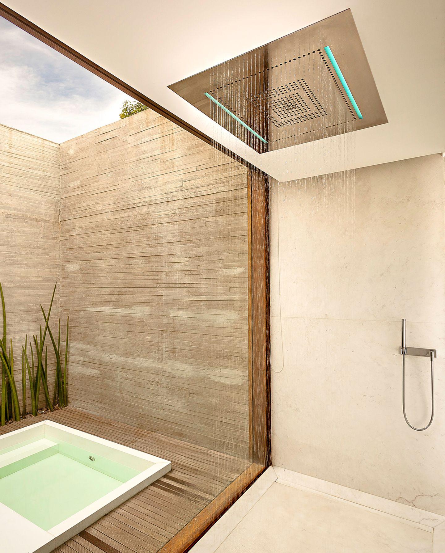 Rain Shower-Dusche von Dornbracht