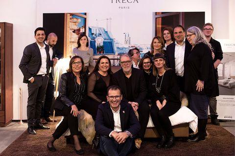 Das Drifte-Team zusammen mit Kabarettist Wolfgang Trepper
