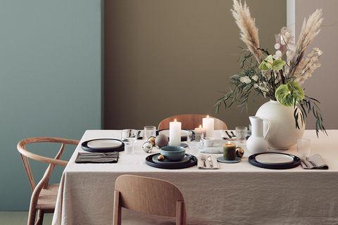 Tischdeko - festlich den Tisch decken