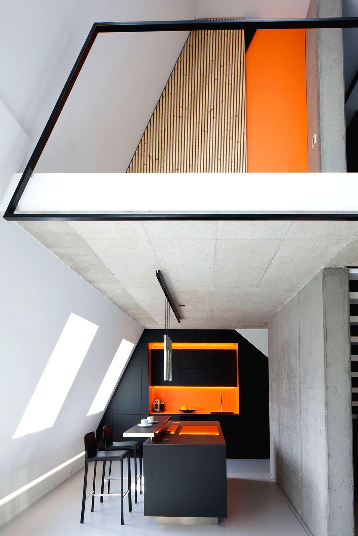 HÄUSER 01-2019: Architekten Bachmann Badie - Maisonette in Kölner Altbau
