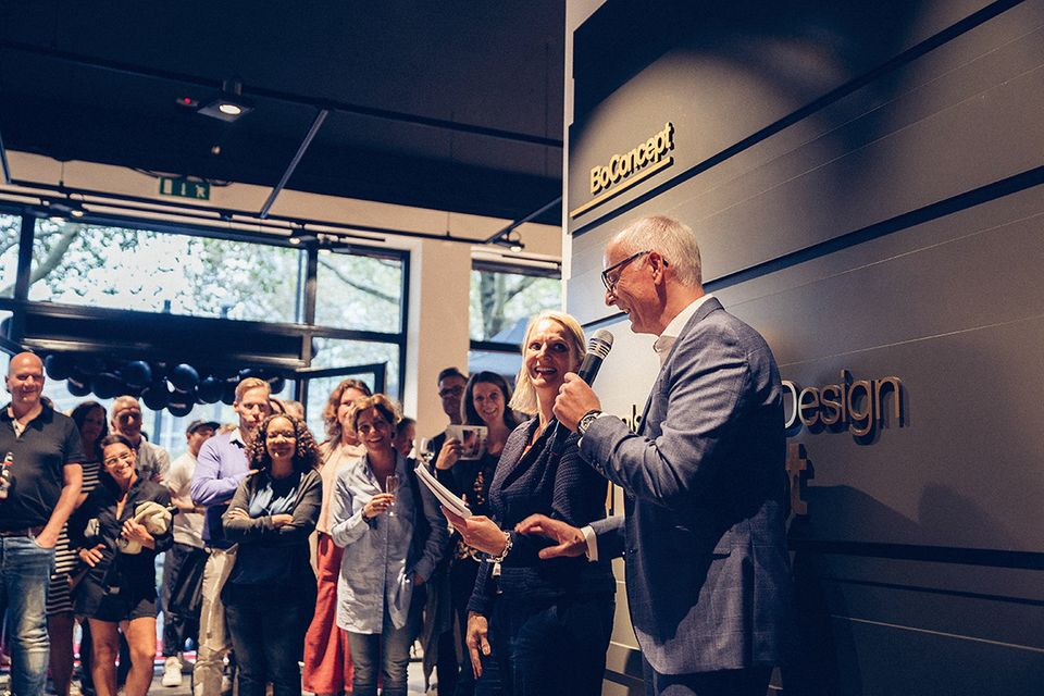 BoConcept Storeopening in Frankfurt
