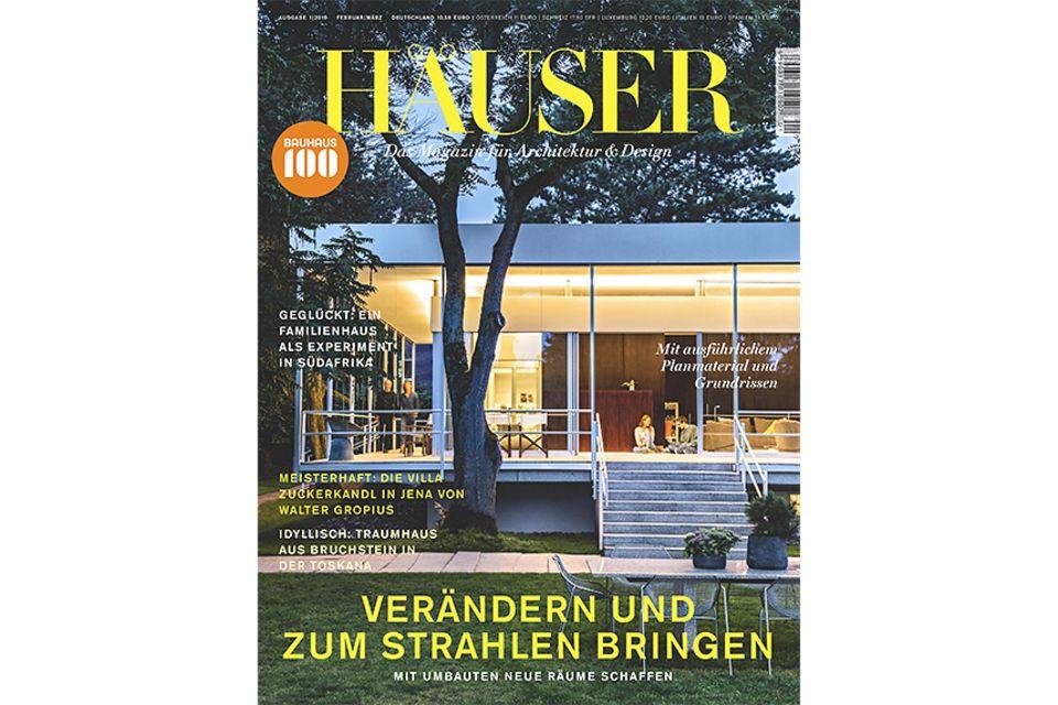 HÄUSER 2019-01: Cover