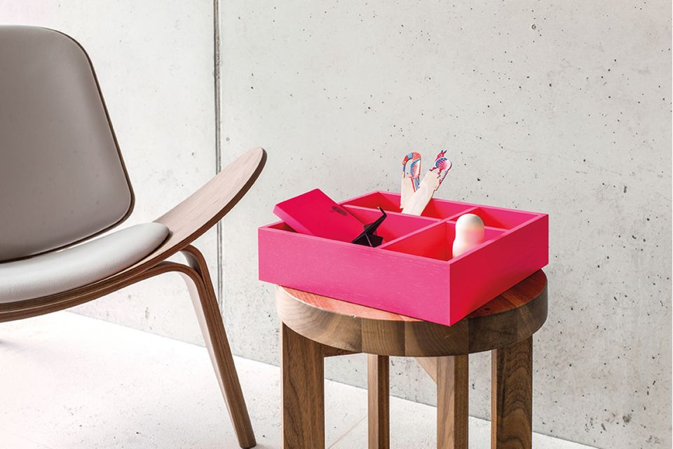 Ordnungsbox in pink von Schönbuch