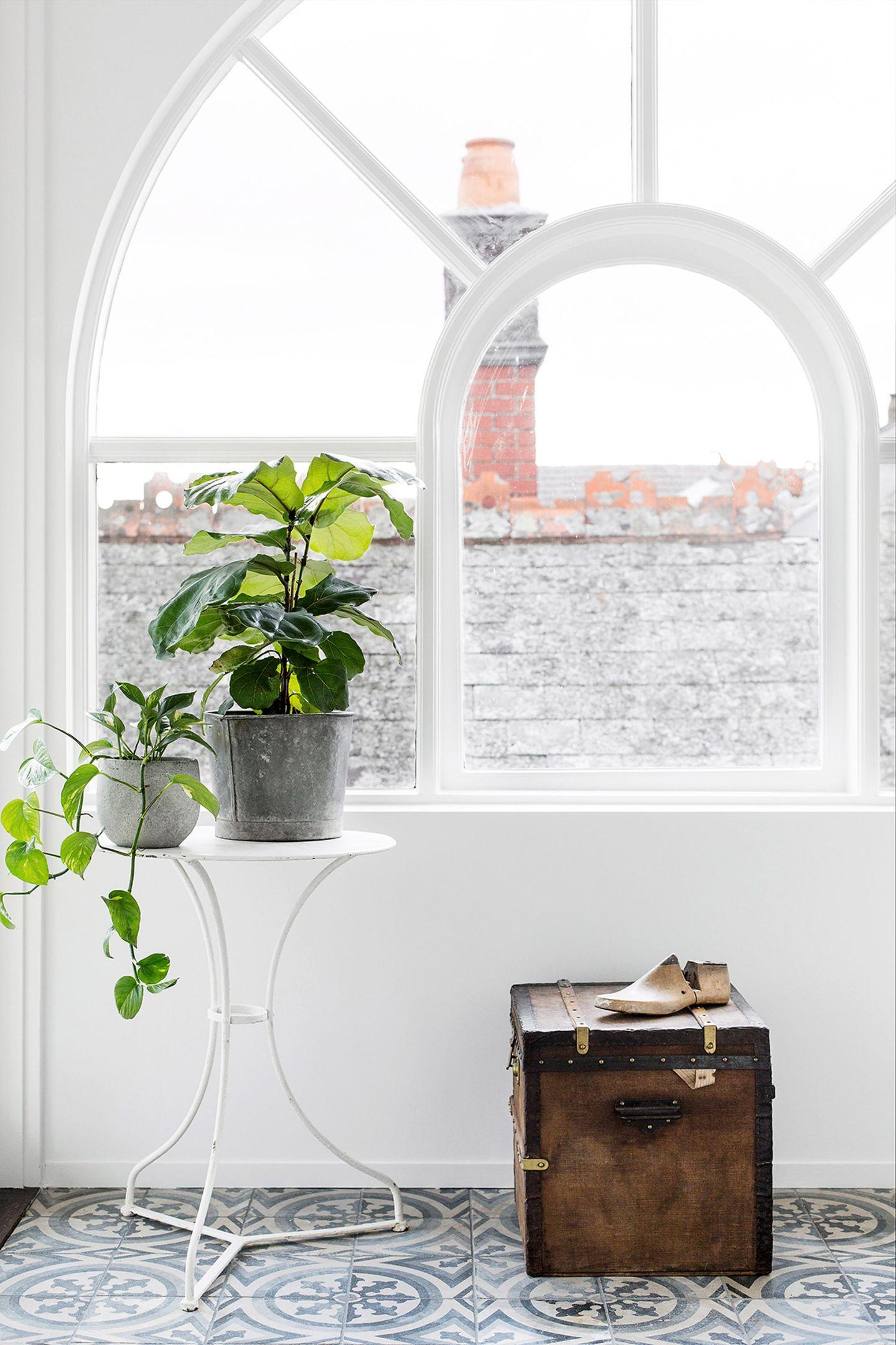 Wintergarten mit Bogenfenster