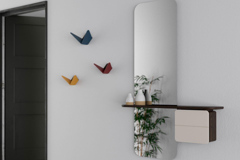 """Garderobenhaken """"Butterflies"""" von Umage"""