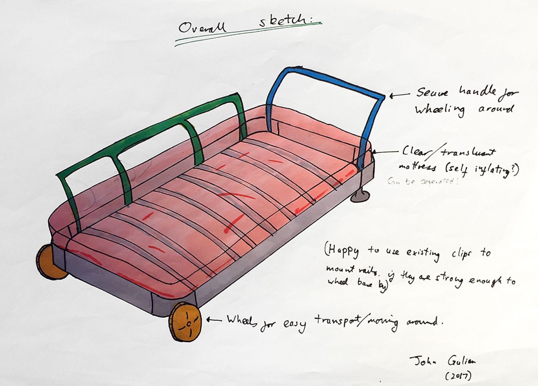 """Entwurf aus dem Studentenprojekt """"Delaktig"""" von Tom Dixon und Ikea"""