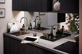 """Küche """"Toronto"""" in schwarzer Eiche von Häcker"""