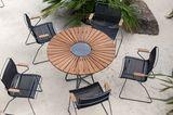 "Tisch ""Circle"" aus Aluminium von Houe"