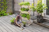 """Klappbares Gartenbeet """"Vertical Garden"""" von Urbanature"""