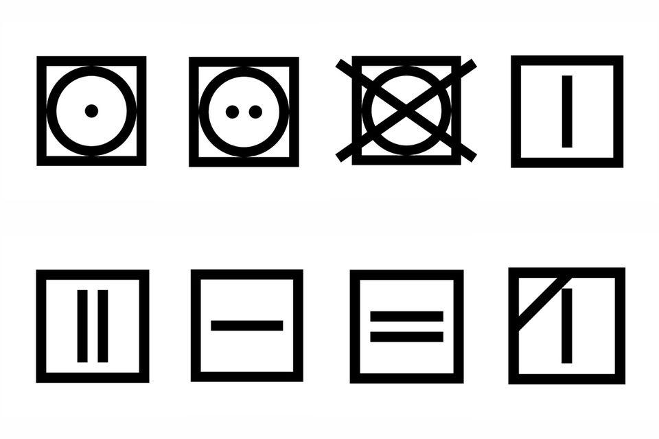 Wäsche bedeutung zeichen Cleanipedia logo