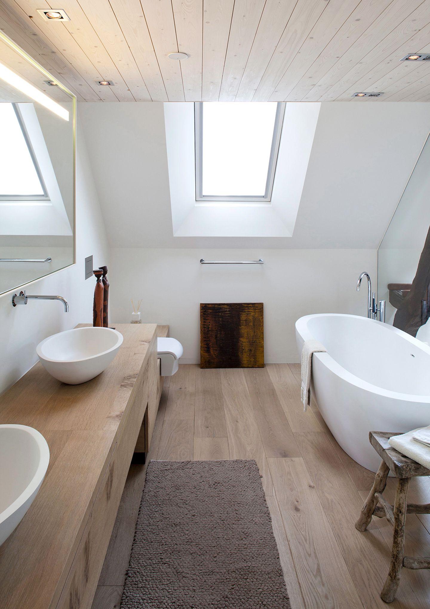 Holz im Badezimmer   Bild 21   [SCHÖNER WOHNEN]
