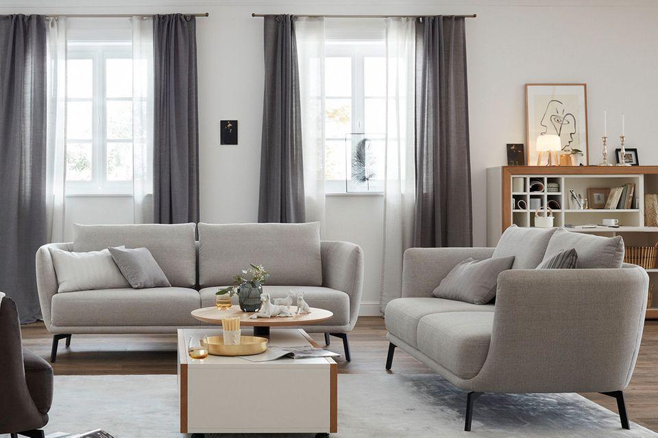 """Sofa """"Pearl"""" aus der SCHÖNER WOHNEN-Möbelkollektion"""
