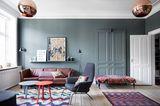 Wohnzimmer mit Stilmix