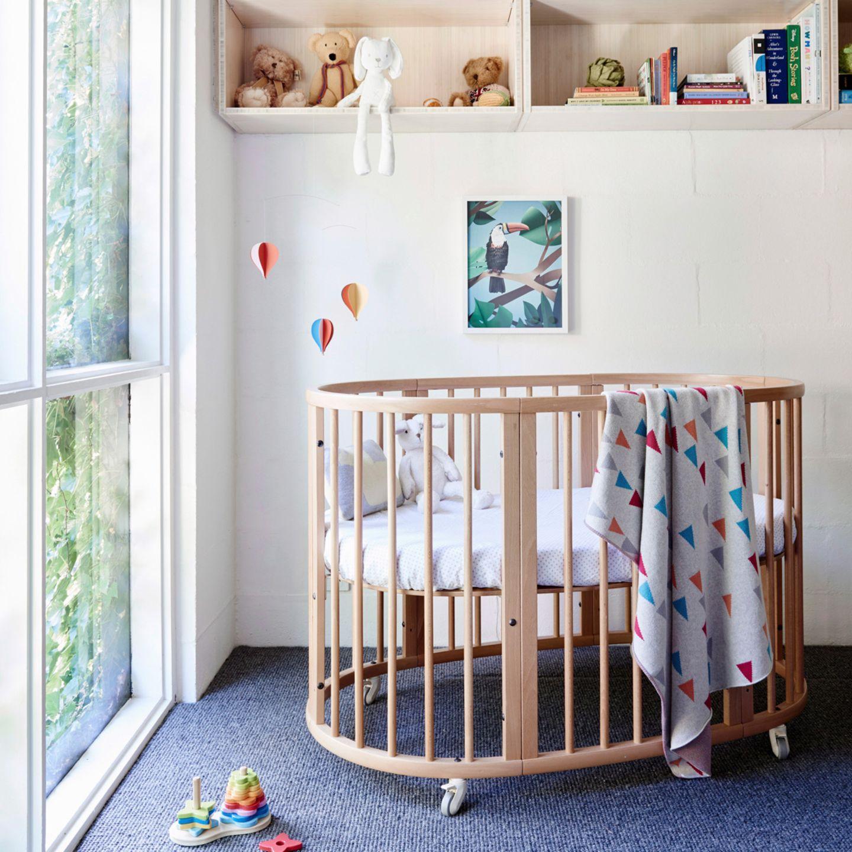 Babybett mit Rollen