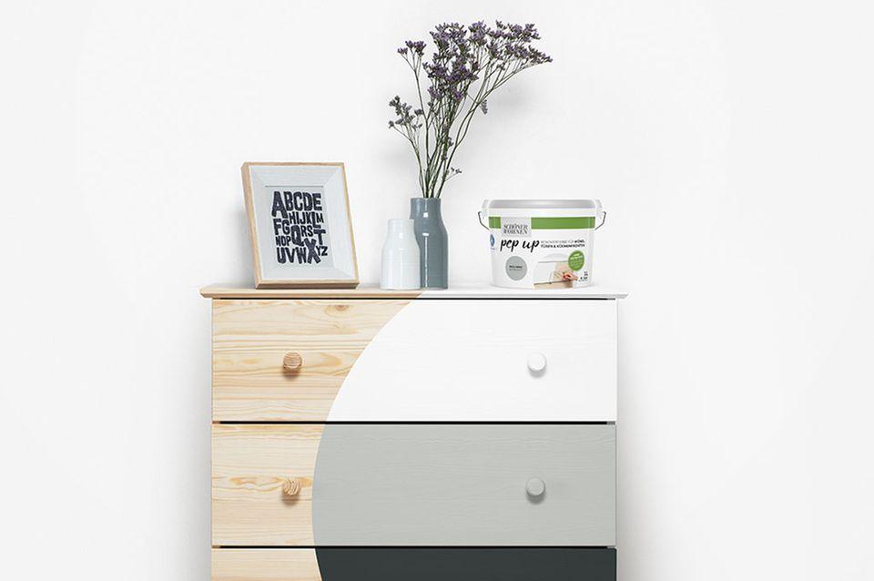 """pep up - Aus Alt mach """"wow"""": Mit Renovierfarben wirken Möbel, Fliesen, Böden und Holzflächen wie neu"""