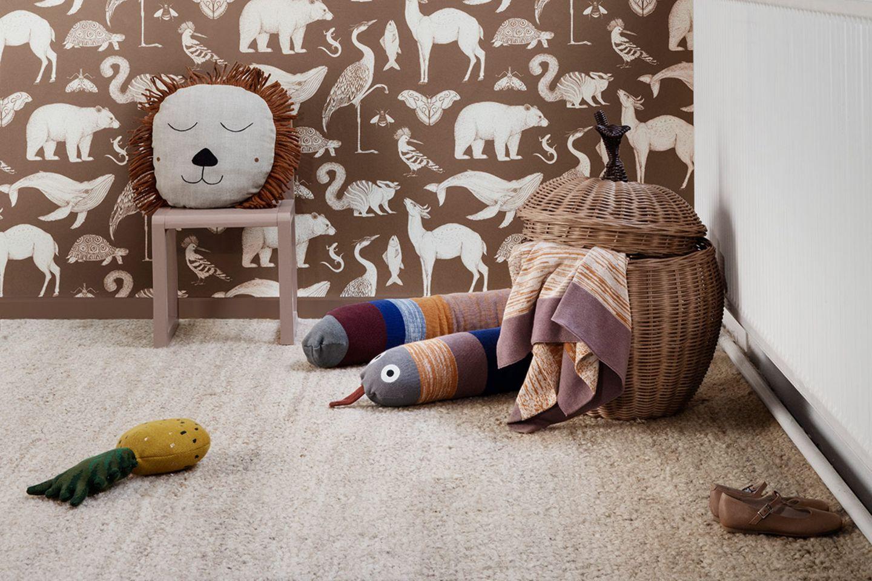 Weicher Teppich im Babyzimmer