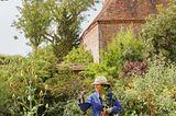 Gärtnerin in Great Dixter