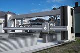"""3D-Haus: Hausdrucker """"Vulcan II"""" von Icon"""