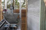 3D-Haus: Rohbau des Hauses mit dem 3D-Drucker