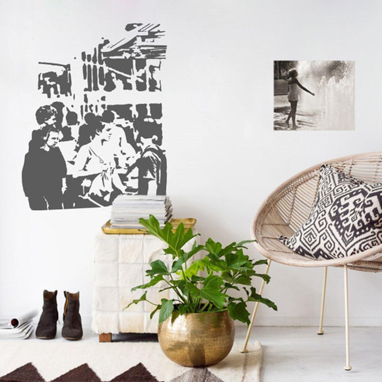 Der erste Eindruck zählt: Wandtattoo im Urban Art Stil - Bild 8