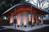 3D-Haus: Abenstimmung auf der Terrasse