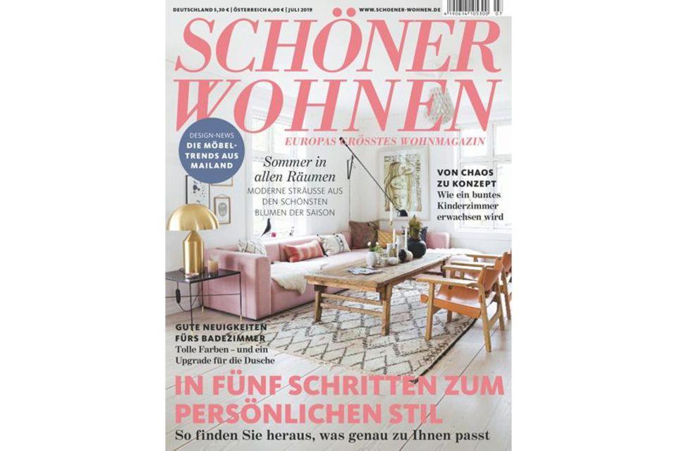 Blick ins Heft: SCHÖNER WOHNEN 07/2019