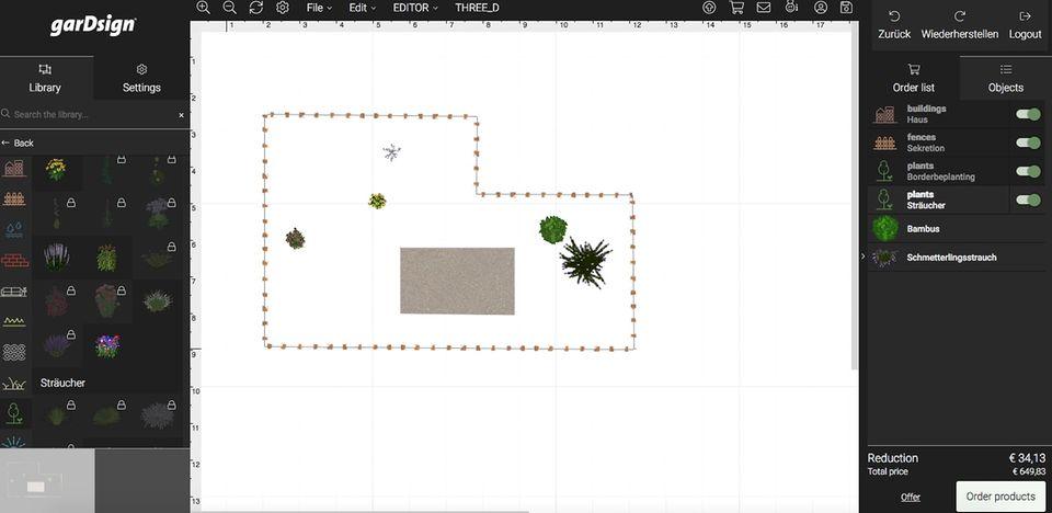 Gartenplaner: Gardsign - Online-Planer