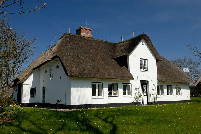 Reetdach-Haus