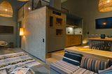 "Designhotel ""25 Hours Hotel Frankfurt The Trip"""
