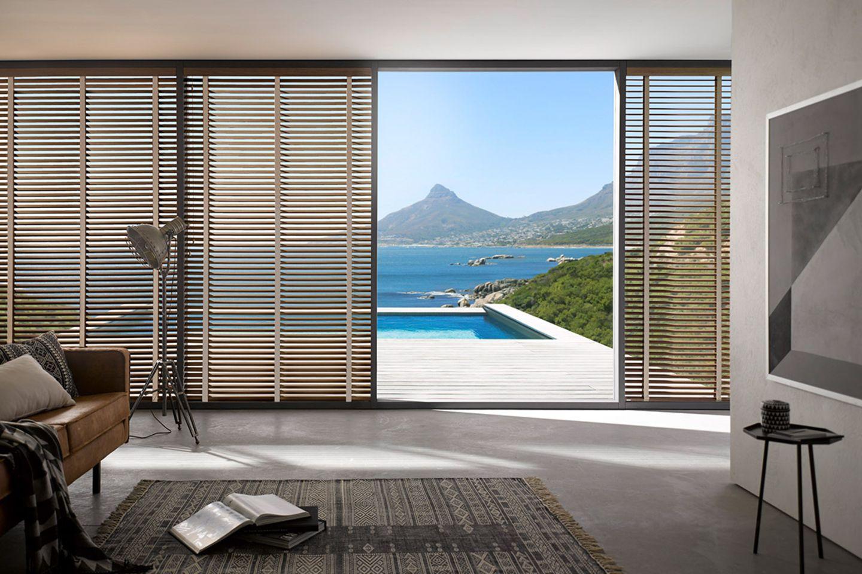"""Holzjalousie """"Cape Town"""" von Kadeco"""