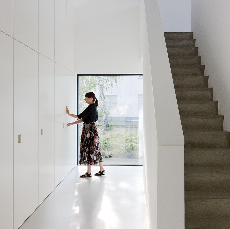 Umbau Doppelgiebelhaus: Versteckter Platz dank Einbauten
