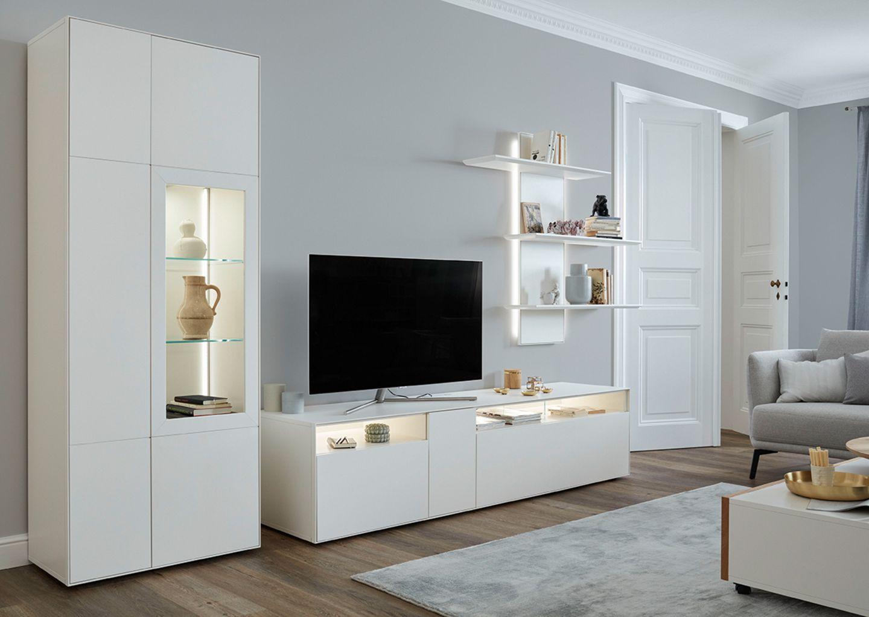 """Zeitlos Serie sehen - klassisch-moderne Wohnwand """"Dimaro"""""""