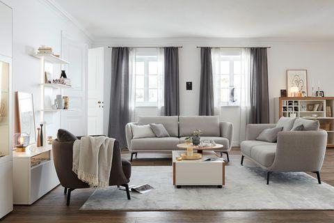 """Klassisch und elegant im Wohnzimmer - Sessel """"Pearl"""""""